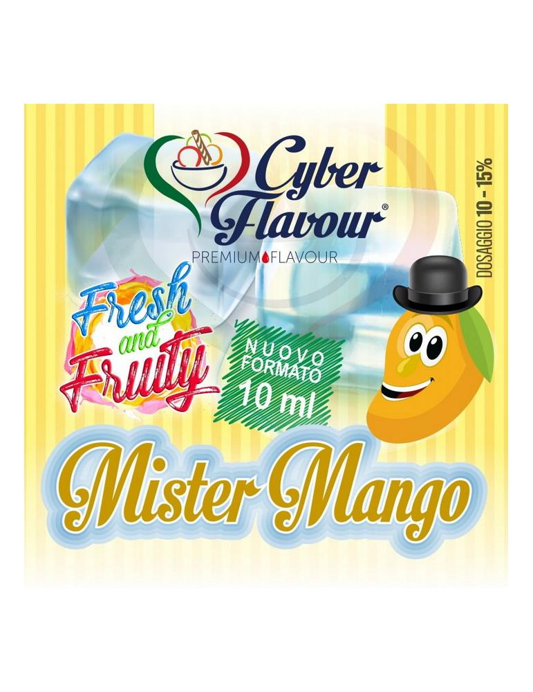 "Cyber Flavour ""FRESH"" Mr Mango 10 ml aroma concentrato"