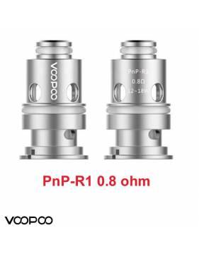 VooPoo VINCI PNP-R1 coil 0,8 ohm/12-18W (1 pz) per serie Vinci e Drag