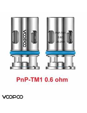 VooPoo PNP-TM1 coil 0,6ohm/20-25W (1 pz) per serie Vinci e Drag