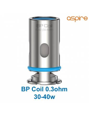 Aspire BP coil mesh DTL 0,3ohm/30-40W (1 pz) per FINIXX