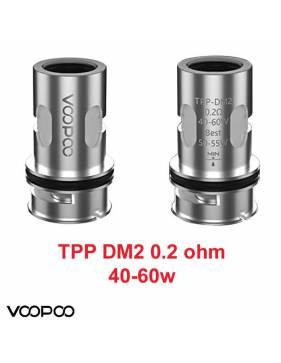VooPoo TPP-DM2 coil mesh DTL 0,2ohm/40-60W (1 pz)