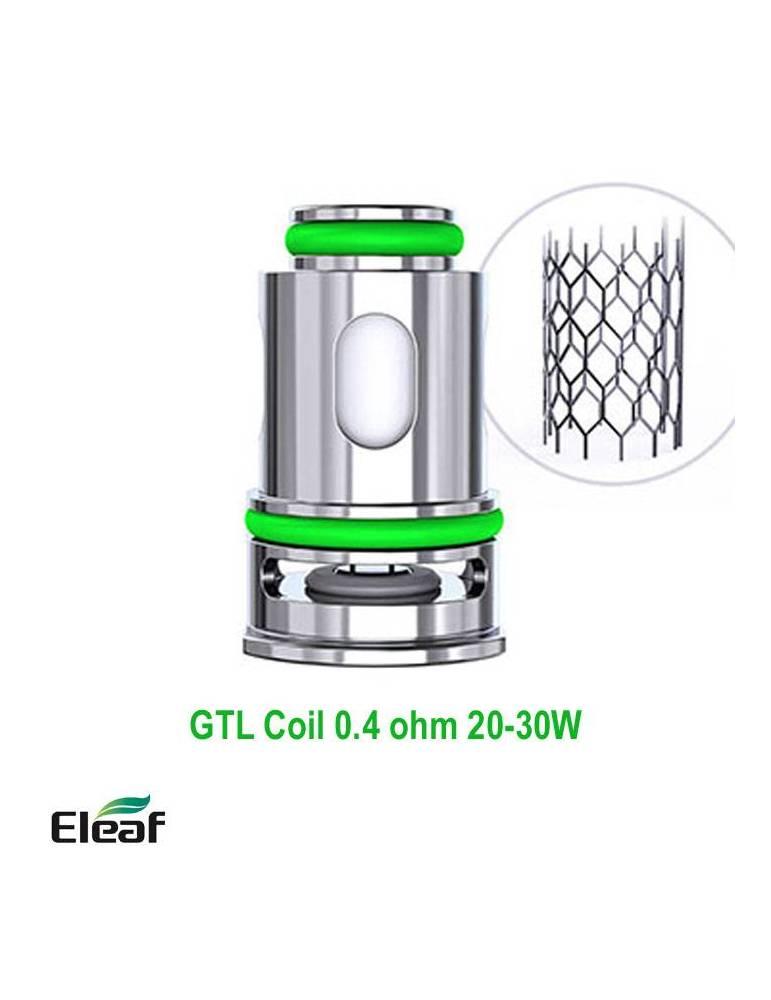 Eleaf GTL coil DTL 0,4ohm/20-30W  (1 pz) per GTL pod serie
