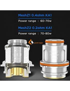 Geekvape Zeus Sub-ohm tank DTL 5,0 ml - Resistenze