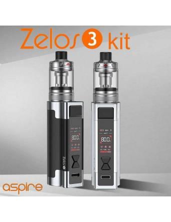 Aspire ZELOS 3 kit 3200mah/80W (con NAUTILUS 3 tank 4ml/ø24mm)