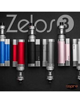 Aspire ZELOS 3 kit 3200mah/80W (con NAUTILUS 3 tank 4ml/ø24mm) lp