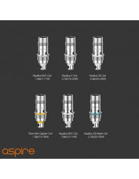 Aspire ZELOS 3 kit 3200mah/80W (con NAUTILUS 3 tank 4ml/ø24mm) resistenze compatibili
