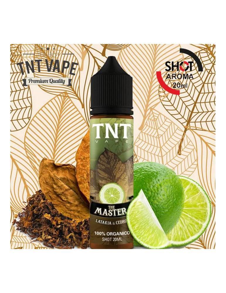 TNTVape THE MASTER 20ml aroma scomposto (organic tobacco)