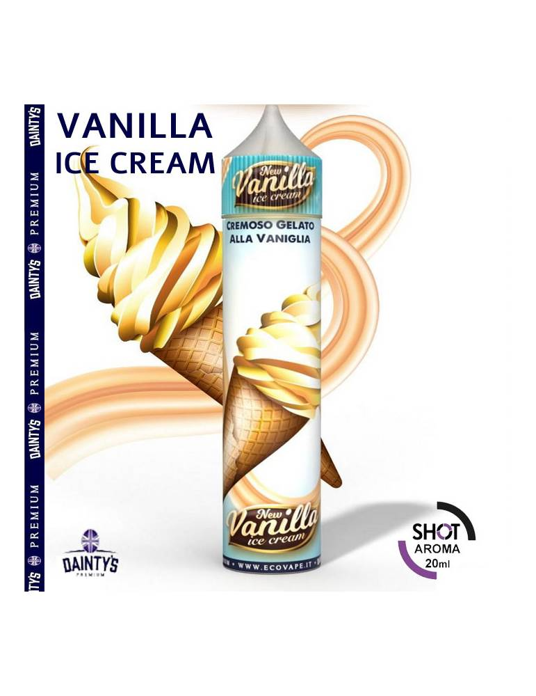 Dainty's VANILLA ICE CREAM 20ml aroma Scomposto Cream by Eco Vape