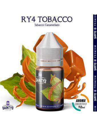 Dainty's TOBACCO RY4 10ml aroma concentrato Tabac by Eco Vape