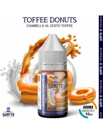 Dainty's TOFFEE DONUTS 10ml aroma concentrato Cream by Eco Vape