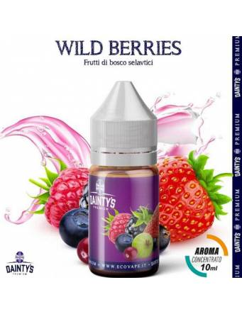 Dainty's WILD BERRIES 10ml aroma concentrato Fruit by Eco Vape